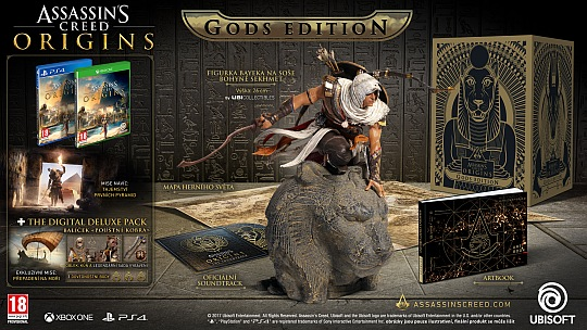 Assassins Creed Origins GODS EDITION