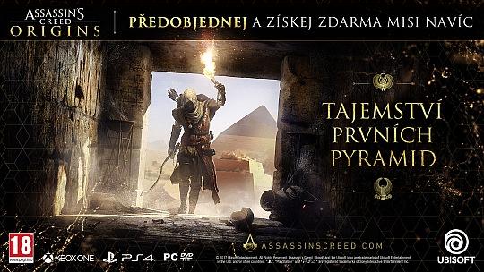 Assassins Creed Origins Mise navíc