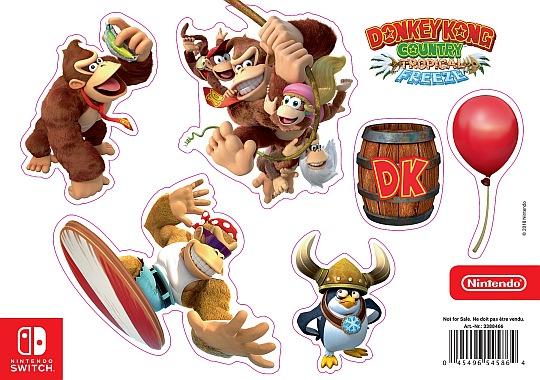 Samolepky Donkey Kong