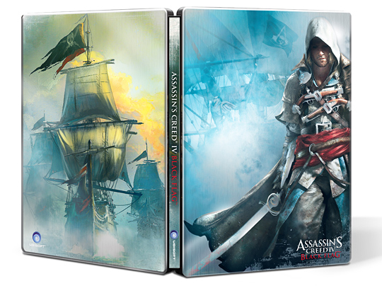 AC4 Black Flag Steelbook na GameLeader