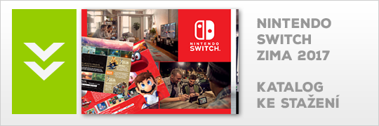 Katalog Nintendo Switch Zima 2017