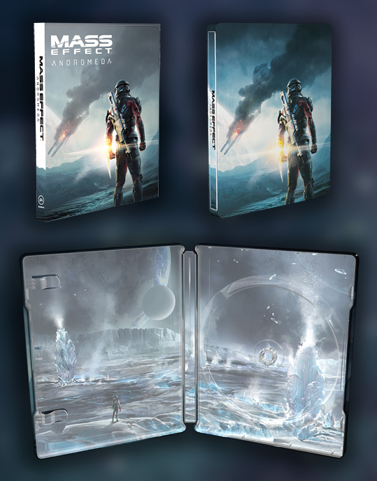 Mass Effect Andromeda STEELBOOK na GameLeader