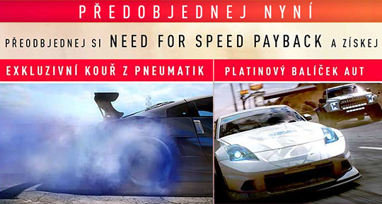 NFS Payback bonusy