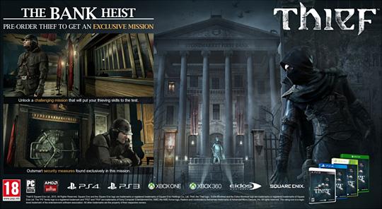 Thief DLC The Bank Heist od GameLeader