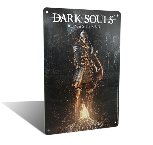 Dark Souls Switch Metal Plate