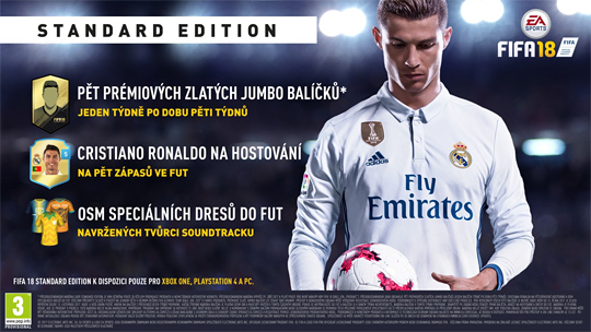 FIFA 18 PRE-ORDER BONUSY