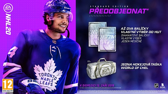 NHL 20 bonusy