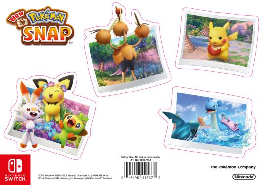 New Pokémon Snap StickerSheet