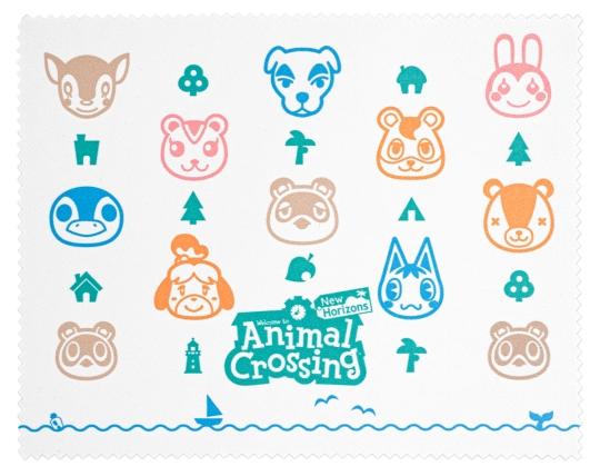 Animal Crossing New Horizons Microfibre Cloth