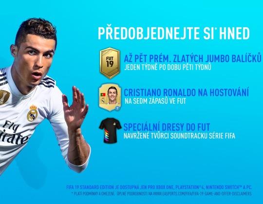 FIFA 19 bonusy