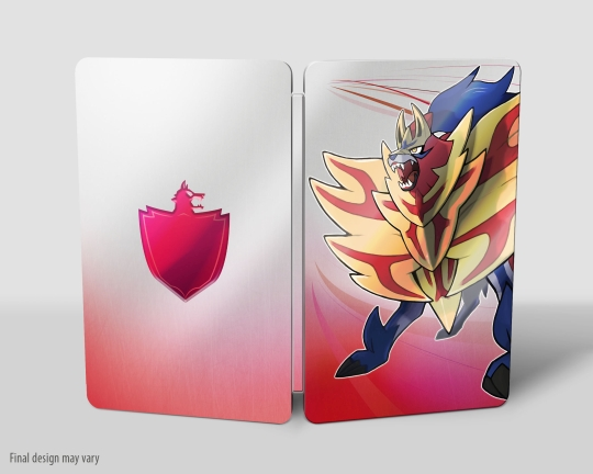 Pokémon Shield Steelbook