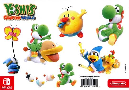 Samolepky Yoshis Crafted World