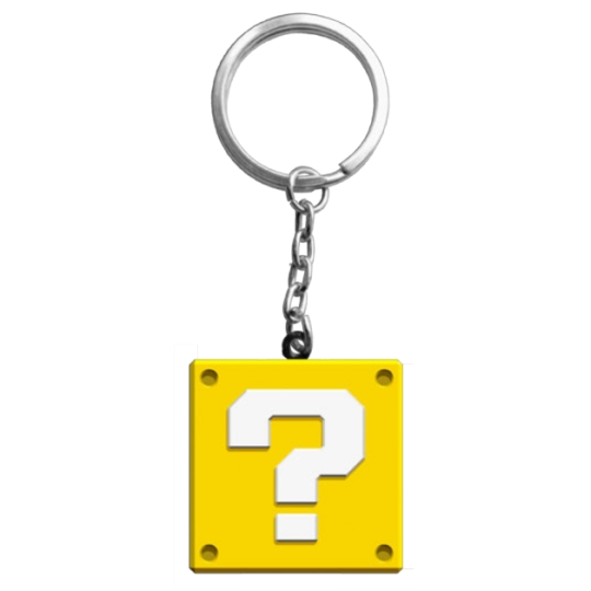 Super Mario Maker 2 Keyring